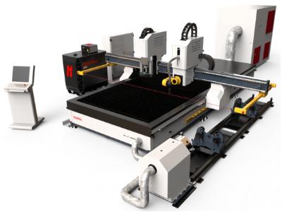 machine de découpe PLASMA et découpe tube à commande numérique