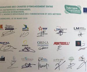 signature de la charte fabrique des compétences